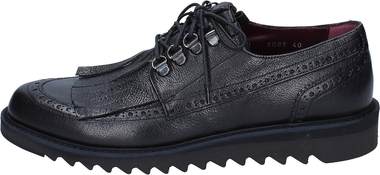 ROBERTO BOTTICELLI BOTTICELLI BOTTICELLI Elegante Schuhe Herren Leder schwarz B07MM8ZHWW  ed4bbf