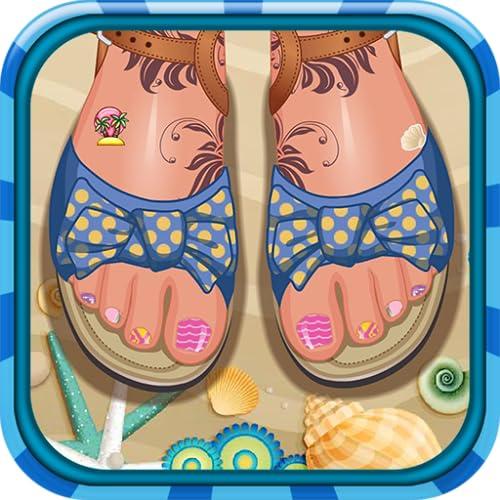 Toe nail design - Nail game