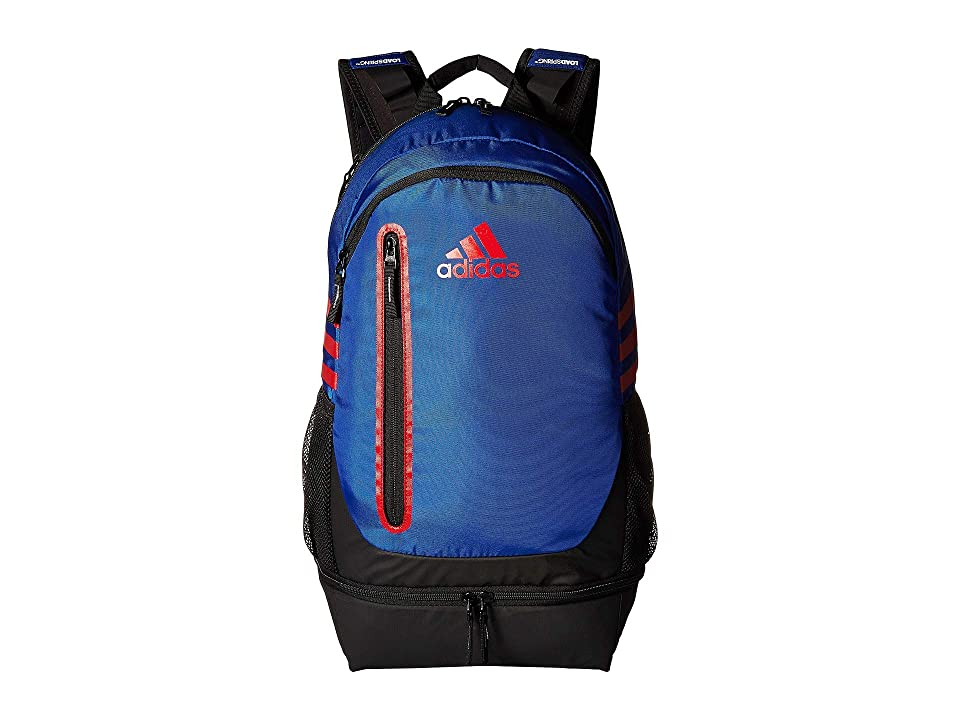 adidas Pivot Team Backpack (Bold Blue/Power Red) Backpack Bags