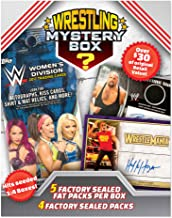Wrestling Cards 2018 Mystery Box 2 Decks - 5 Factory Sealed Fat Packper Box + 4 Factory Sealed Pack