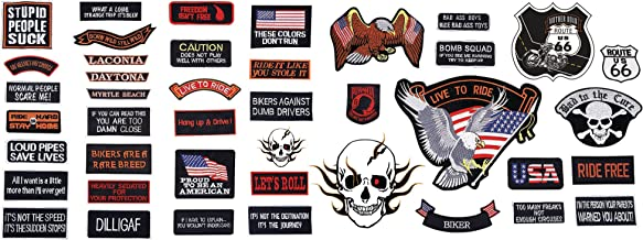 wholesale motorcycle patches
