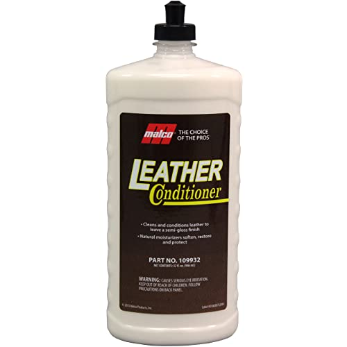 Amazon.com: Malco Leather Conditioner Cleans and Conditions Fine Leather: Automotive