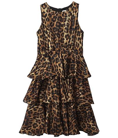 Milly Minis Emiliana Cheetah Burnout Maxi (Big Kids) Girl
