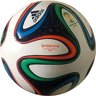 Adidas Brazuca Mini World Cup Soccer Ball 1 White/multi Color