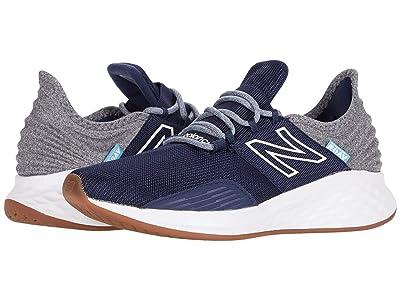 New Balance Kids Fresh Foam Roav (Big Kid) (Natural Indigo/Light Aluminum) Boys Shoes