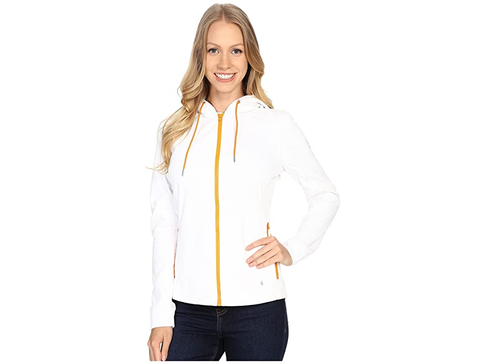 Spyder Escynt Fleece Jacket (White/White/Edge) Women