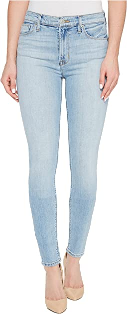 Barbara High Waist Super Skinny Five-Pocket Jeans in Seventeen
