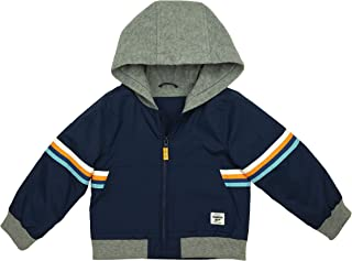 Baby Boys' Midweight Fleece Lined Windbreaker Jacket