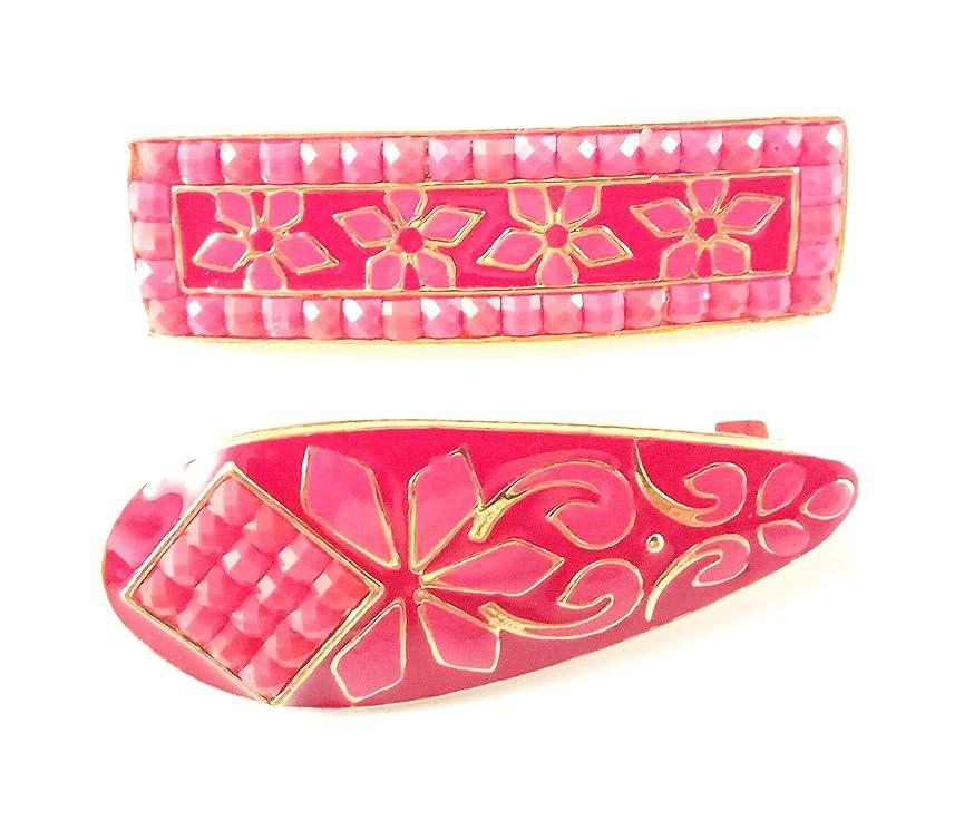 Sarvam Decorative Safety Pins Saree Pins Brooch Hijab Pin Set of 2