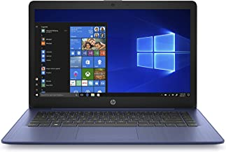 HP Stream 14-inch Laptop, AMD Dual-Core A4-9120E Processor, 4 GB SDRAM Memory, 32 GB eMMC Storage, Windows 10 Home in S Mode with Office 365 Personal for One Year (14-ds0010nr, Royal Blue)