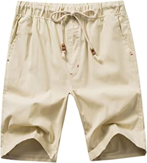 Men's Linen Casual Classic Fit Short B311