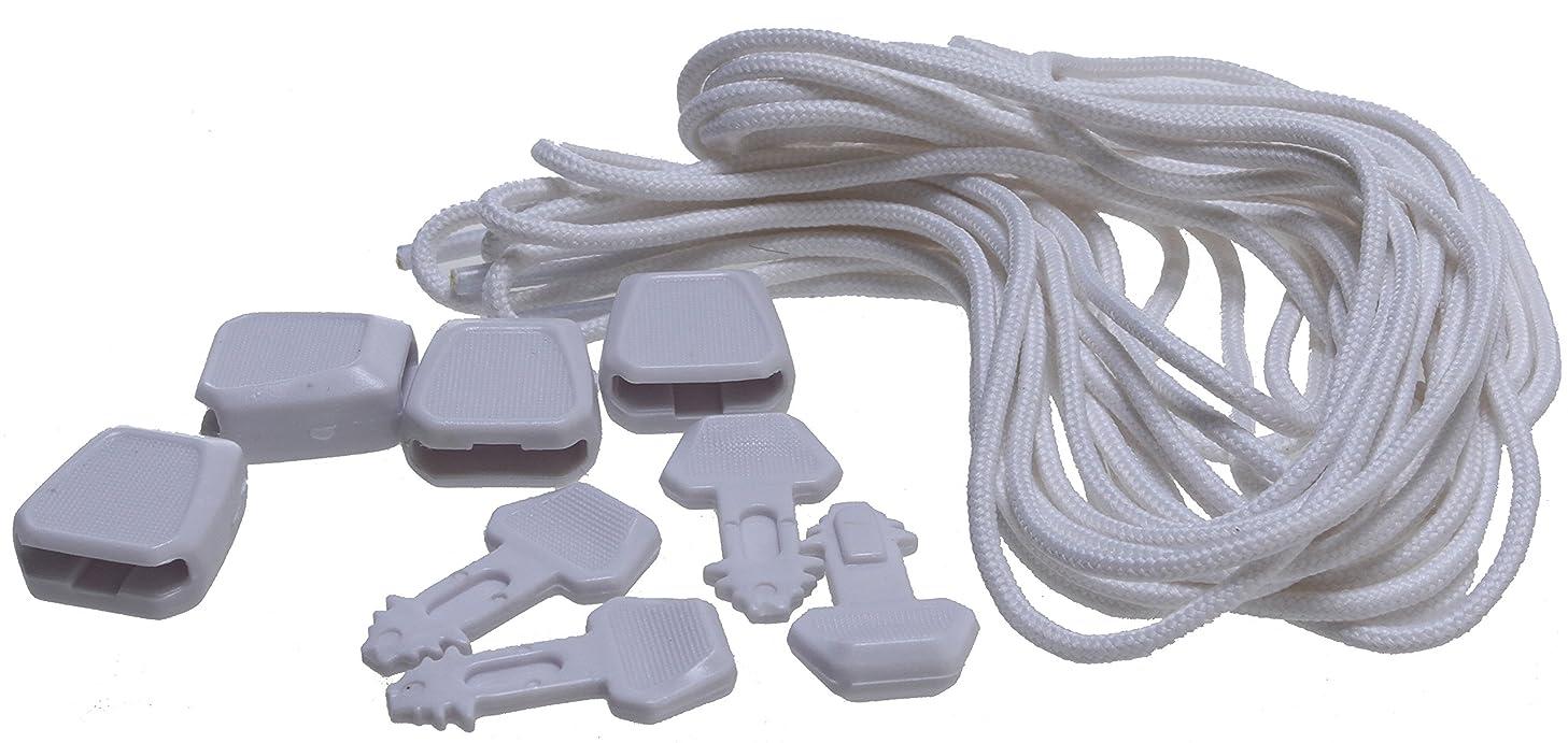 Ronix Lace Lock Kit White