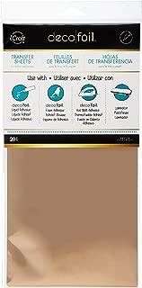 Hoja de Transferencia Thermoweb Deco Foil 6 x 12 pulgadas de oro rosa de 20 s