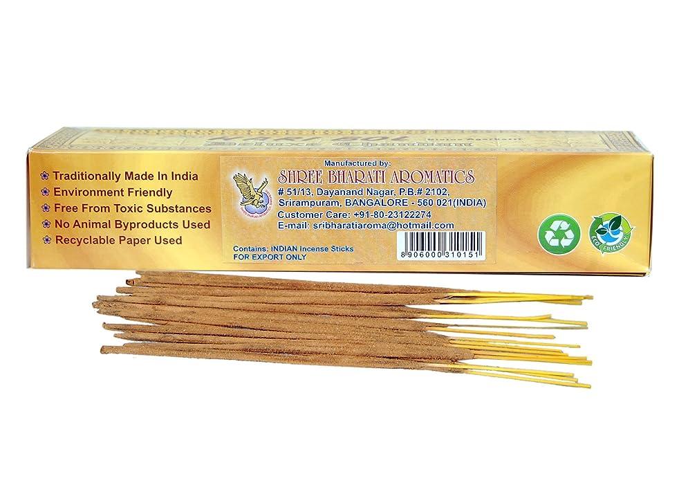 ソケット空白忌まわしいデラックスChandan (サンダルウッド) Incense Sticks Sri Hari Bol Divine Agarbatti ( 180お香スティックに含む1パケット)