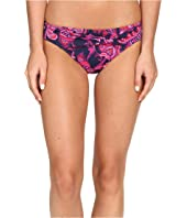 Tommy Bahama - Jacobean Floral Twist-Front Hipster Bikini Bottom