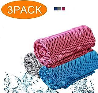 asciugamano rinfrescante con custodia in silicone SUI-lim per escursioni ad asciugatura rapida antiallergico viaggi asciugamano per il raffreddamento corsa bandana tennis