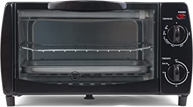 Westinghouse WTO1010B 4-Slice Toaster Oven, 10-Liter, 14.57
