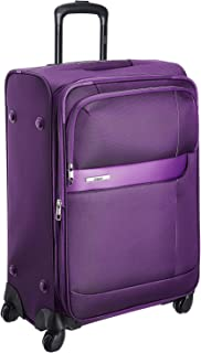 VIP Axis Nylon 42 Ltrs Purple Carry-On (STAXIW54PPL)