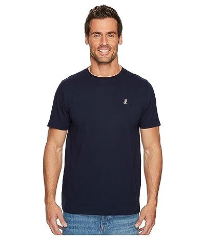 Psycho Bunny Crew Neck T-Shirt (Navy) Men