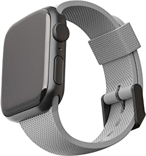 [U] od UAG kompatybilny z Apple Watch Band 44 mm 42 mm, iWatch Series 6/5/4/3/2/1 & Watch SE, miękki stylowy silikonowy wz...