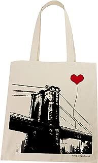 New York Brooklyn Bridge Lightweight Tote Bag