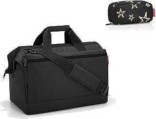 reisenthel Allrounder L Pocket Black Reisetasche 48cm, 32 l Plus multicase Kosmetiktasche Stars