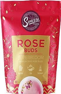 Best dried rose bud Reviews