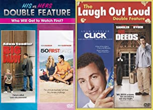 First Hers & Then His Fall in Love Adam Sandler 4 Movie Pack DVD Big Daddy & 50 First Dates + MR. Deeds Comedy Feature Click Collection Set