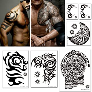 Best mens tribal chest and arm tattoos Reviews