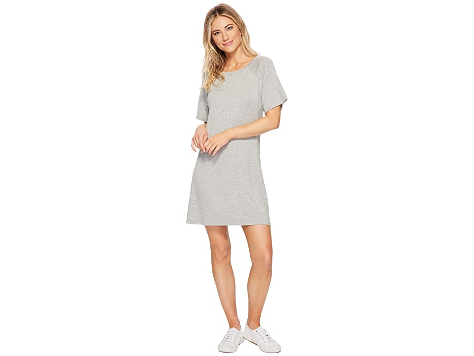 BB Dakota Greer Soft Knit Dress (Light Heather Grey) Women