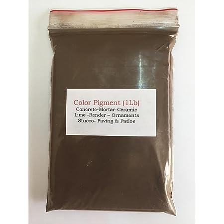Pigmento/tinte marrón chocolate oscuro (1 lb) para hormigón ...