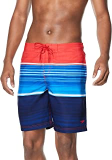 Men's Swim Trunk Knee Length Boardshort Bondi Printed