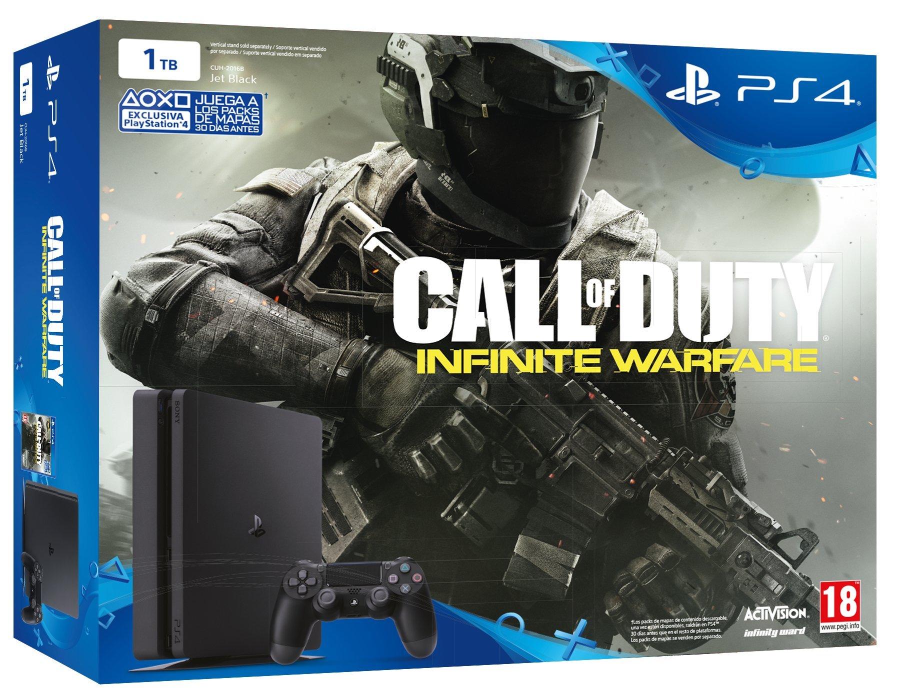 PlayStation 4 Slim (PS4) 1TB - Consola + COD: Infinity Warfare: Amazon.es: Videojuegos