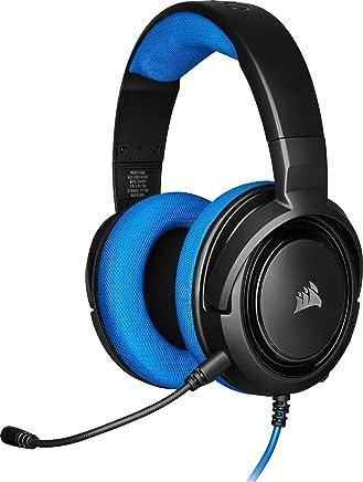 Corsair HS35 Stereo Cuffie Gaming con Microfono Unidirezionale Rimovibile, Altoparlanti in Neodimio da 50 mm, Compatibili con PC, Xbox One, PS4, Nintendo Switch e dispositivi Mobile, Blu - Trova i prezzi più bassi