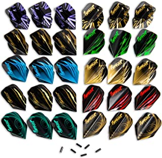 IgnatGames Dart Flights and Accessories – Sets of Different Shape Darts Flights and..