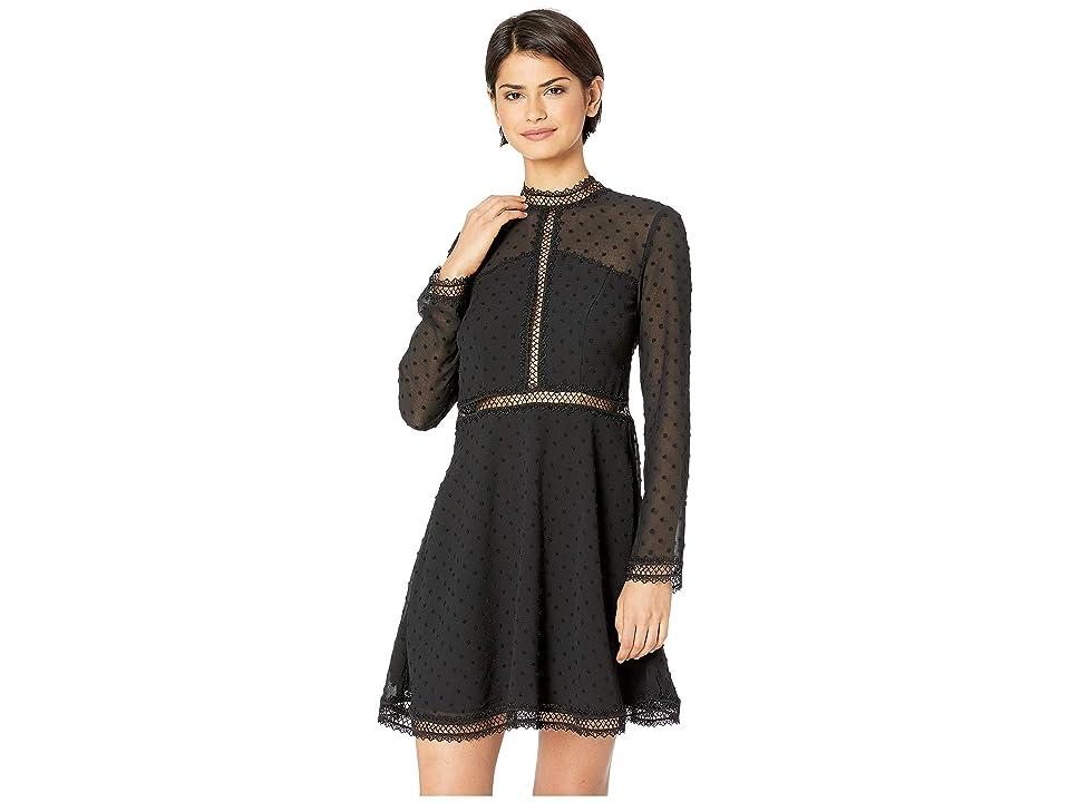 Bardot - Bardot Dobby Trim Dress