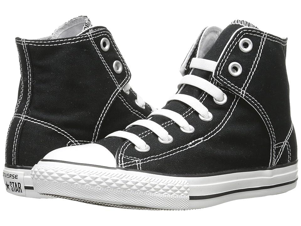 Converse Kids Chuck Taylor(r) All Star(r) Easy Slip (Little Kid/Big Kid) (Black) Kids Shoes