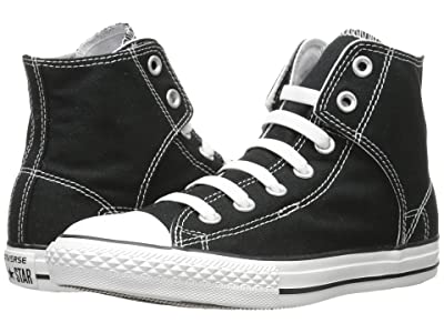 Converse Kids Chuck Taylor(r) All Star(r) Easy Slip (Little Kid/Big Kid) (Black) Kids Shoes