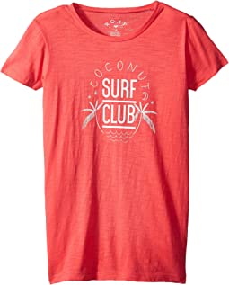 Roxy Kids - Endless Music Coconut Surf Club Tee (Big Kids)