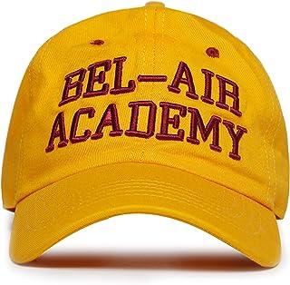 AFLGO Bel Air Academy Hat Baseball Cap 80s 90s Hip Hop Embroidered Baseball Dad Hat Adjustable