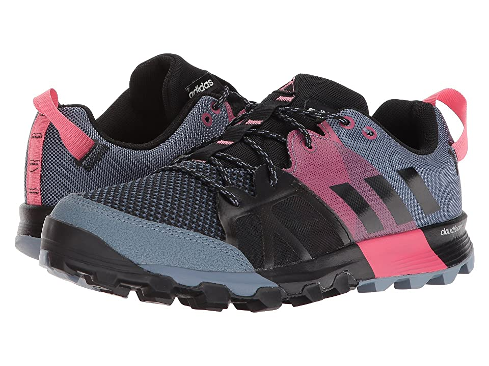 adidas Outdoor Kanadia 8.1 Trail (Raw Steel/Off-White/Real Pink) Women