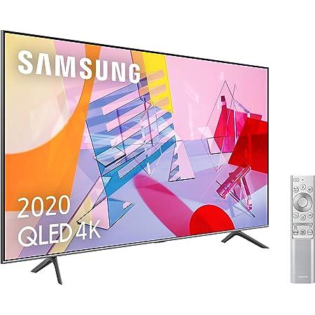 """Samsung QLED 4K 2020 65Q64T - Smart TV de 65"""" con Resolución 4K UHD, con Alexa Integrada, Inteligencia Artificial 4K Wide Viewing Angle, Sonido Inteligente, Premium One Remote"""