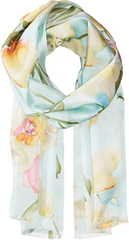 Geni Silk Oblong Scarf