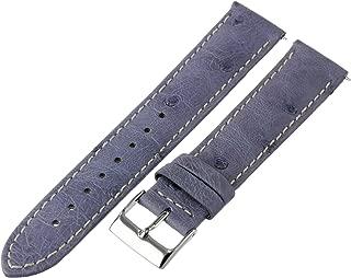 Best blue ostrich watch strap Reviews