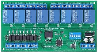 8-kanaals relaismodule, DC 24V, met optocoupler Low-level trigger, Modbus RTU-protocolrelais, PLC-uitbreidingskaart, voor ...