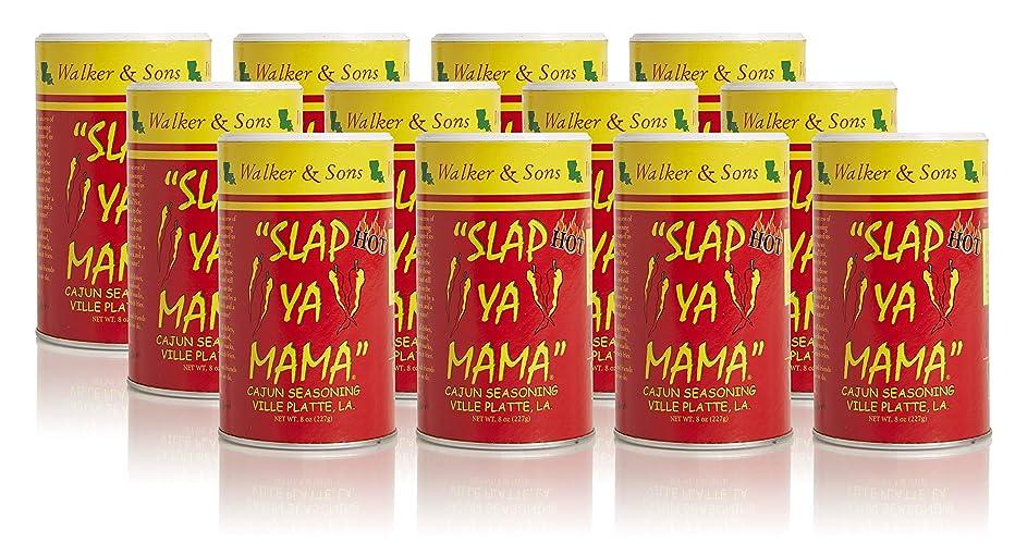 Slap Ya Mama Hot Blend, 8-Ounce Canisters (Pack of 12)
