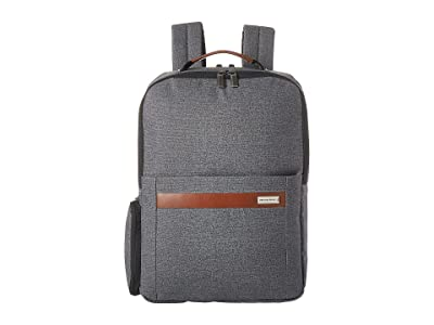 Briggs & Riley Kinzie Street Medium Backpack (Grey) Backpack Bags