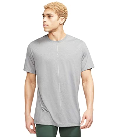 Nike Dry Tee DB Yoga (Iron Grey/Light Smoke Grey) Men