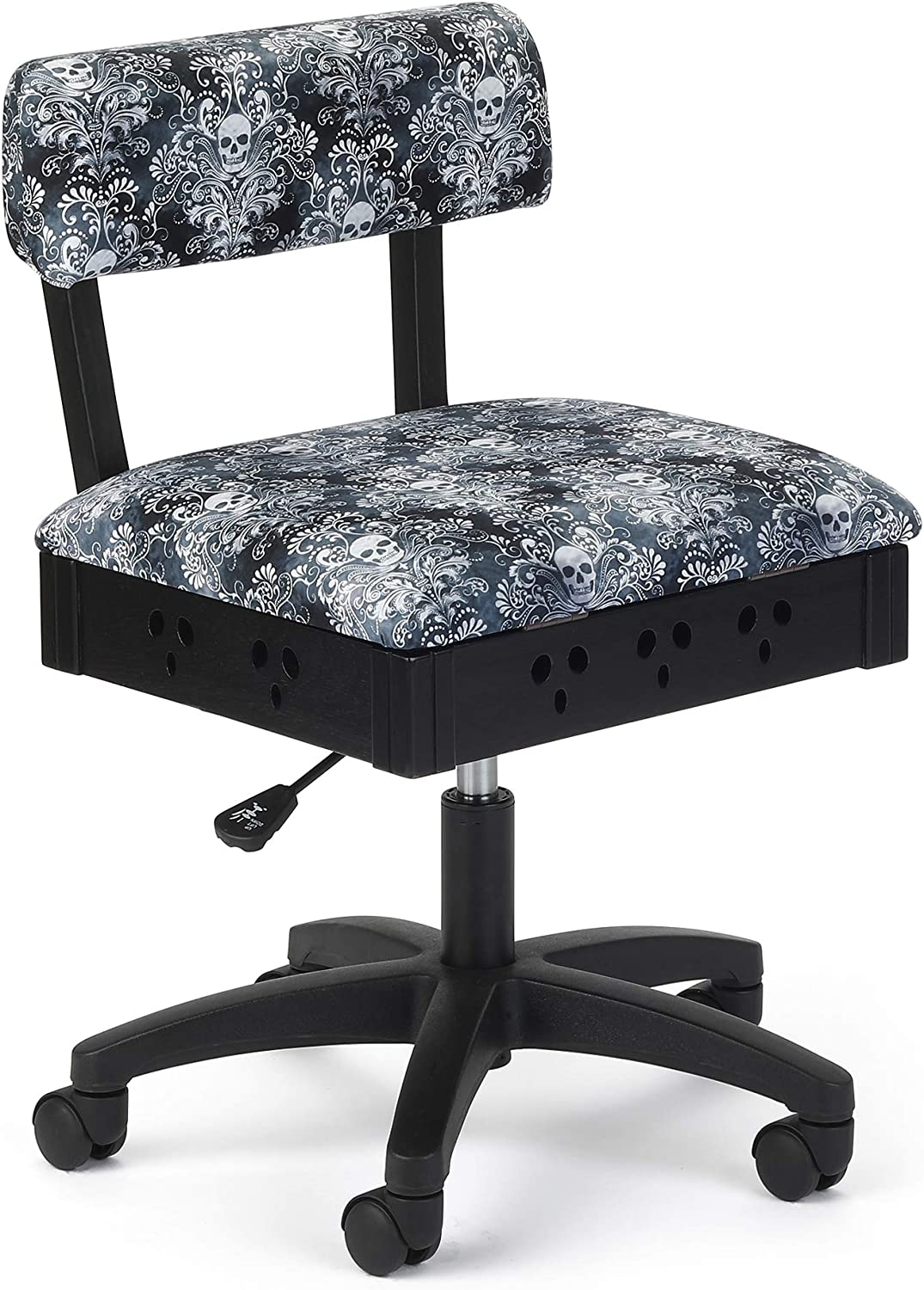 Arrow Adjustable Height Hydraulic Sewing and Craft Chair Wicked Cosplay Upholstery