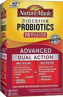 Nature Made Digestive Probiotics Advanced 30 + 30, 2.24 Ounce